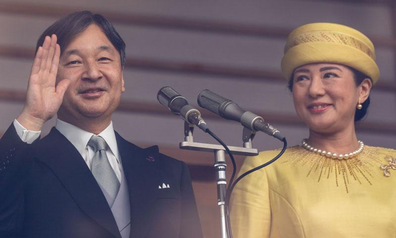 Así fue la primera comparecencia del emperador Naruhito ante los japoneses