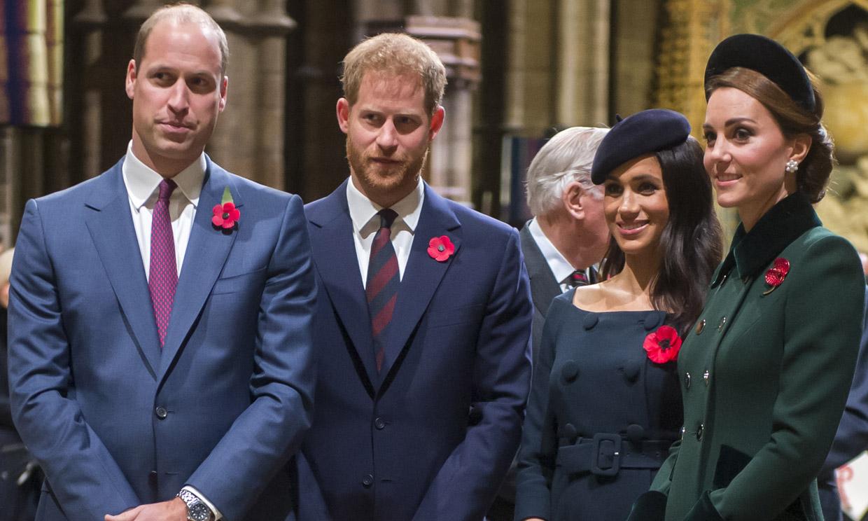 Los Duques de Cambridge y de Sussex se unen en su primer proyecto desde la separación de sus casas