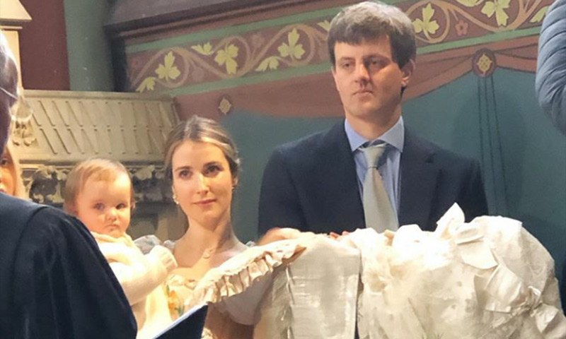 Ernst August y Ekaterina de Hannover bautizan a su segundo hijo