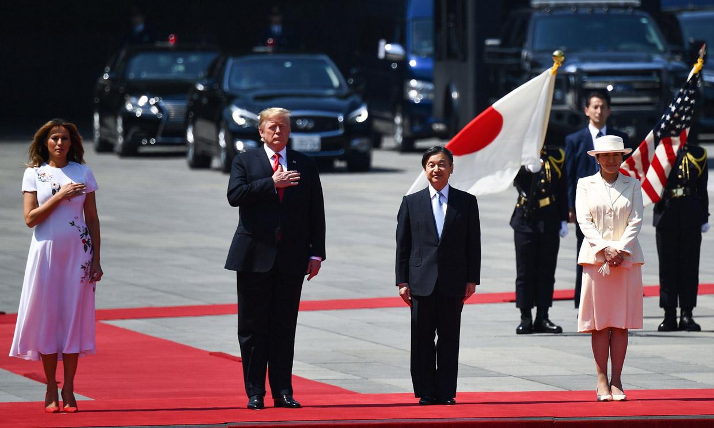 Los Trump son los primeros invitados de los nuevos Emperadores de Japón