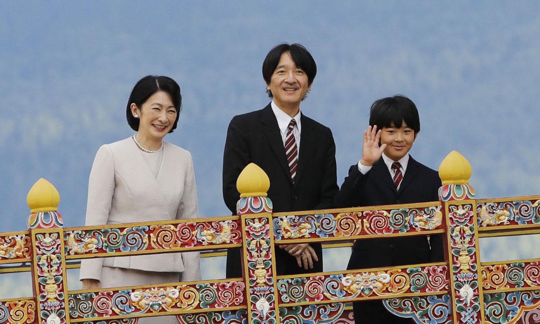 El príncipe Hisahito viaja a Bután en su primer viaje oficial al extranjero