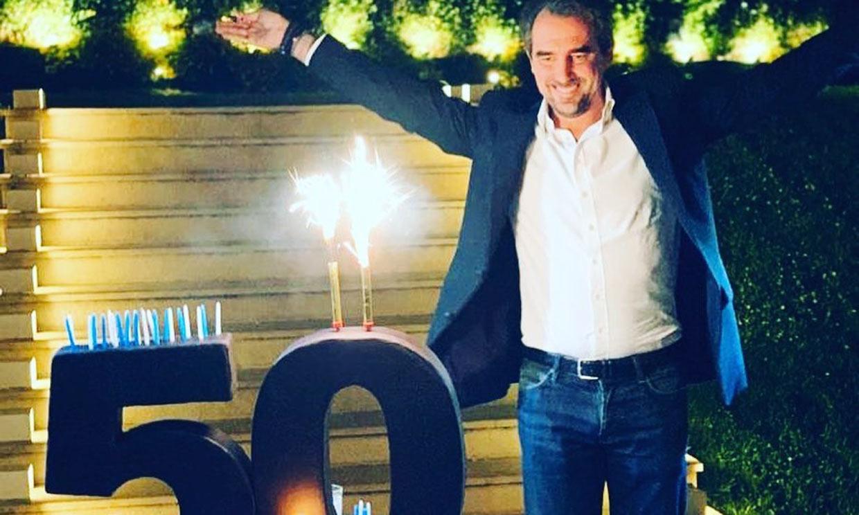 Tatiana Blatnik sorprende a su marido, Nicolás de Grecia, con una gran fiesta de cumpleaños
