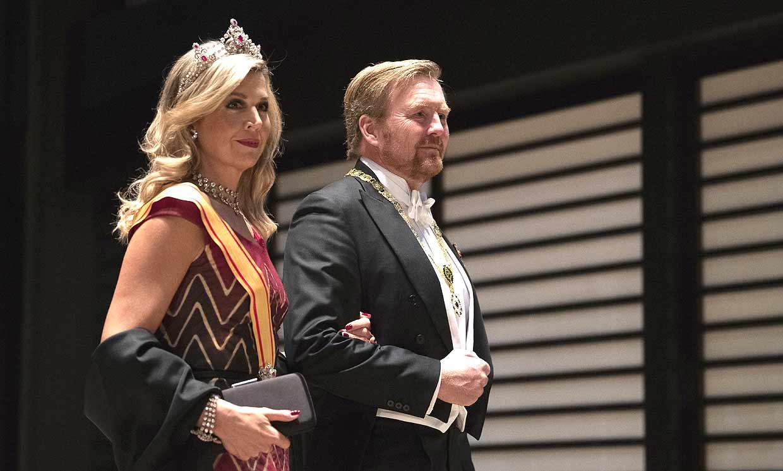FOTOGALERÍA: Pasarela de 'royals' para el gran banquete en el Palacio Imperial