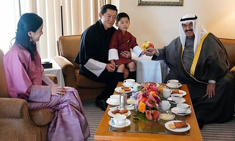 El príncipe de Bután, el invitado más joven (y adorable) de la entronización de Naruhito