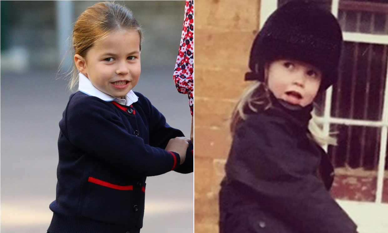 El asombroso parecido entre Charlotte de Cambridge y Lady Kitty Spencer