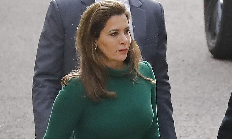 Primeras imágenes del juicio de la princesa Haya y el emir de Dubái