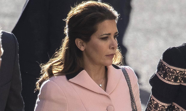 En pleno litigio contra el emir, la princesa Haya recuerda al hombre más importante de su vida