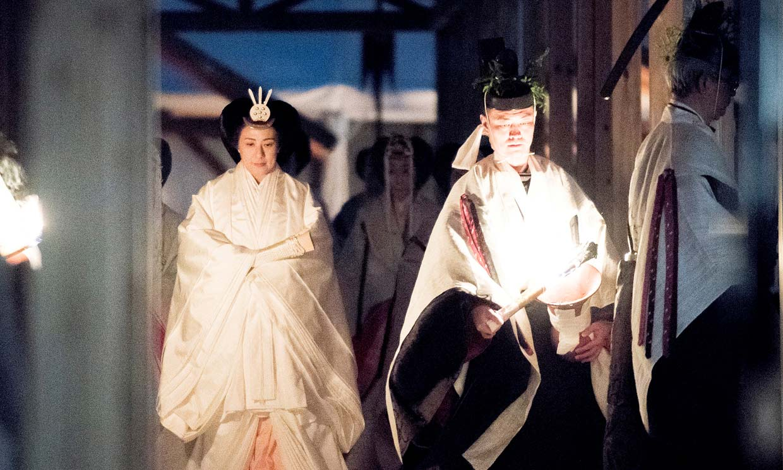 El fastuoso ritual con el que Naruhito de Japón ha puesto fin a los actos por su entronización
