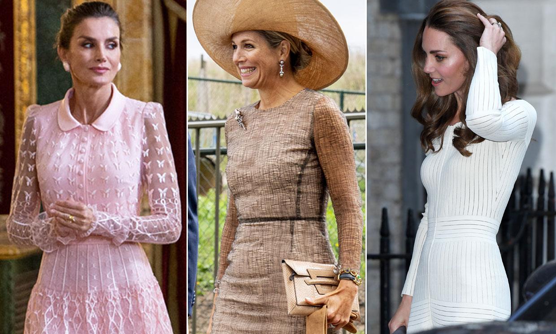 Doce vestidos de moda real