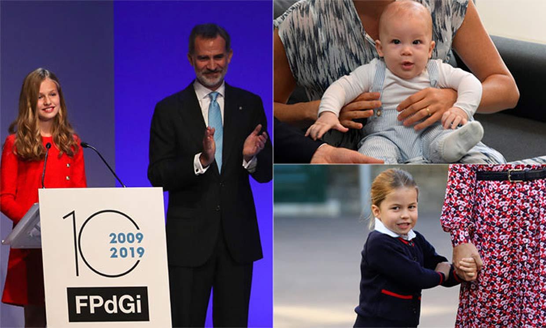 El turno de las nuevas generaciones de 'royals': las primeras veces de los príncipes y princesas