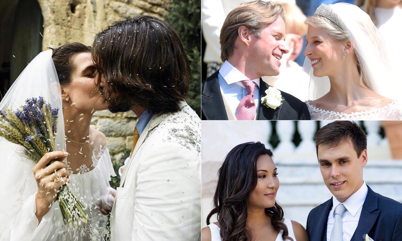 Los 'royals' que nos hicieron soñar con sus románticas bodas en 2019