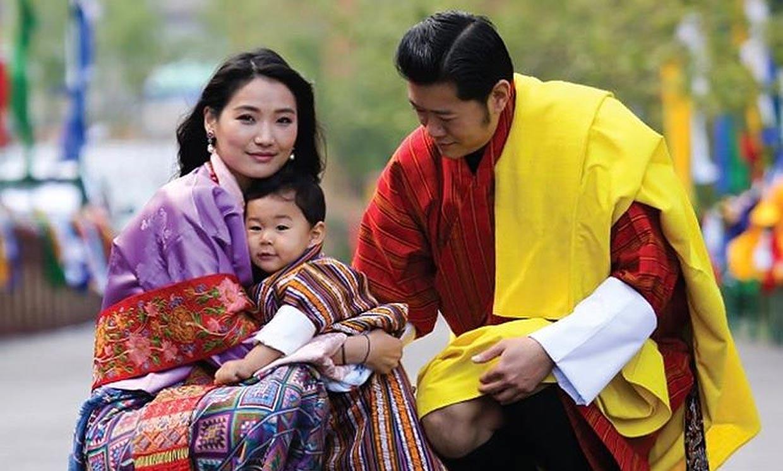Los reyes de Bután van a ser padres por segunda vez
