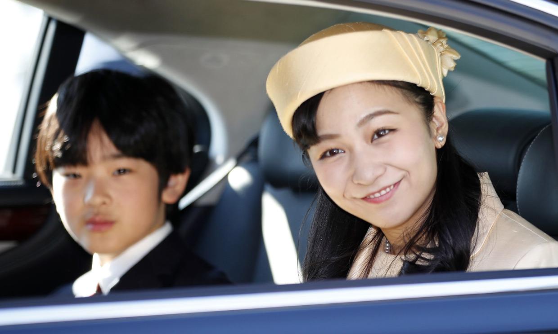 Kako de Japón celebra su 25.º cumpleaños en el Palacio Imperial