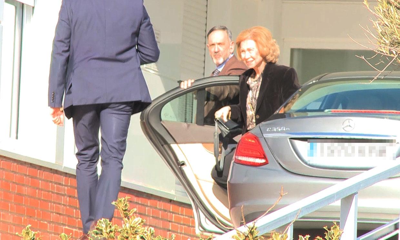 'Está muy malita': los hijos de doña Pilar y la reina Sofía, juntos en el hospital