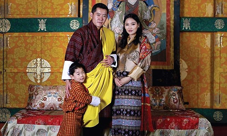 El Rey de Bután recibe el mejor regalo por el día del padre: el nacimiento de su segundo hijo