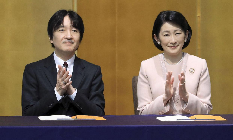 El príncipe Akishino de Japón, sin fecha para su proclamación como heredero que debía celebrarse hoy