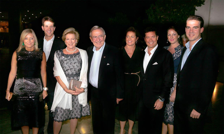 La reunión digital de la Familia Real griega al completo para celebrar la primavera
