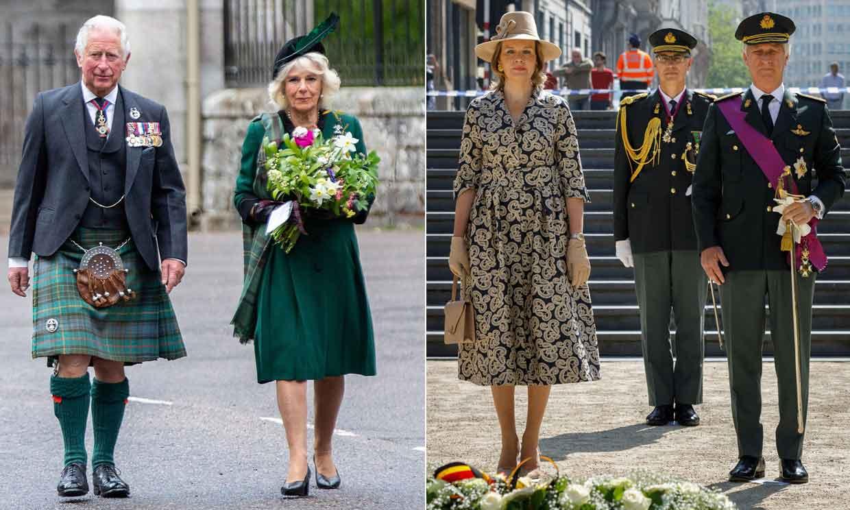Las Casas Reales europeas celebran el aniversario del fin de la Segunda Guerra Mundial