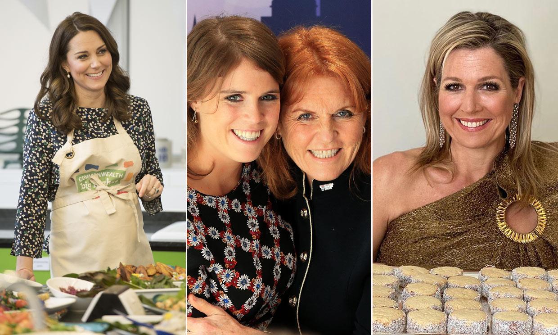 Kate Middleton, Sarah Ferguson o Máxima de Holanda, 'royals' que disfrutan en la cocina