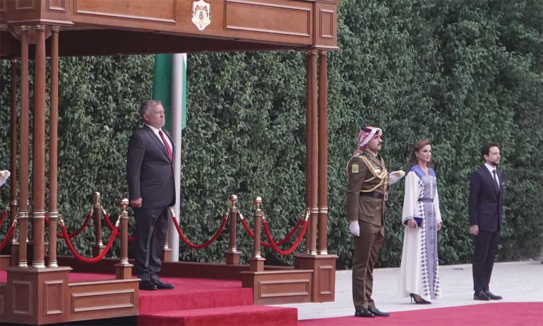 La solemne celebración de Abdalá y Rania de Jordania