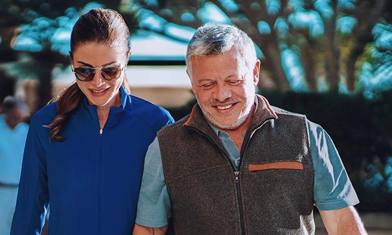 '¿Cómo no enamorarse de esa sonrisa?' Rania de Jordania celebra 27 años de amor junto al rey Abdalá