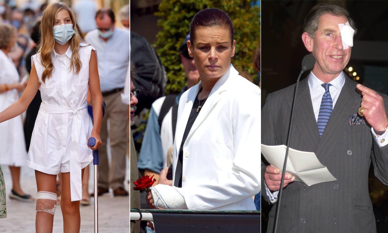 La infanta Sofía no es la única: otros 'royals' a los que también vimos accidentados