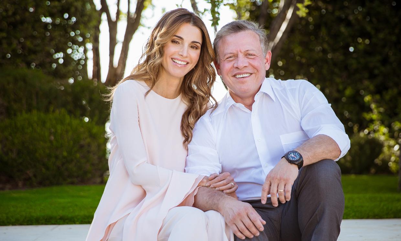 Rania de Jordania comparte sus fotos familiares favoritas