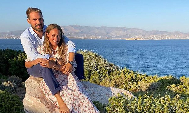 La romántica declaración de Nina Flohr a Felipe de Grecia tras anunciar su compromiso