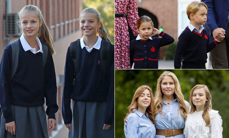 FOTOGALERÍA: Así son los colegios de los 'mini royals' europeos