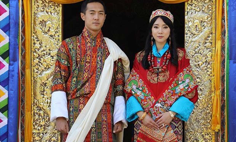 ¡Todo queda en Palacio! La hermana del Rey de Bután se casa con su concuñado