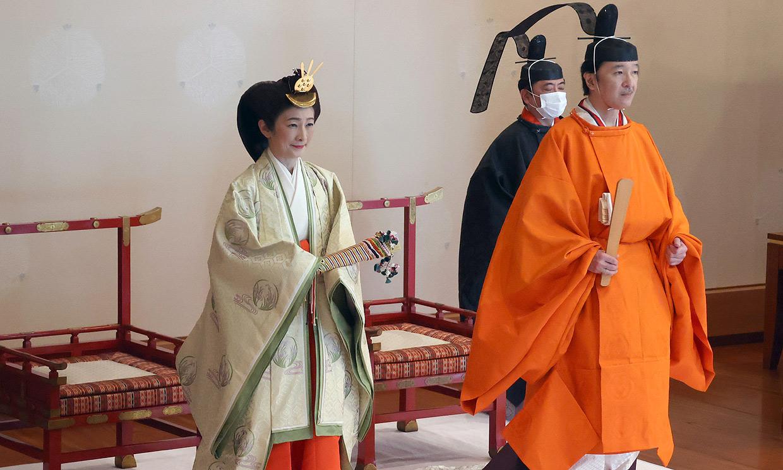 Así ha sido la ancestral (y austera) ceremonia con la que Akishino de Japón ha sido proclamado heredero