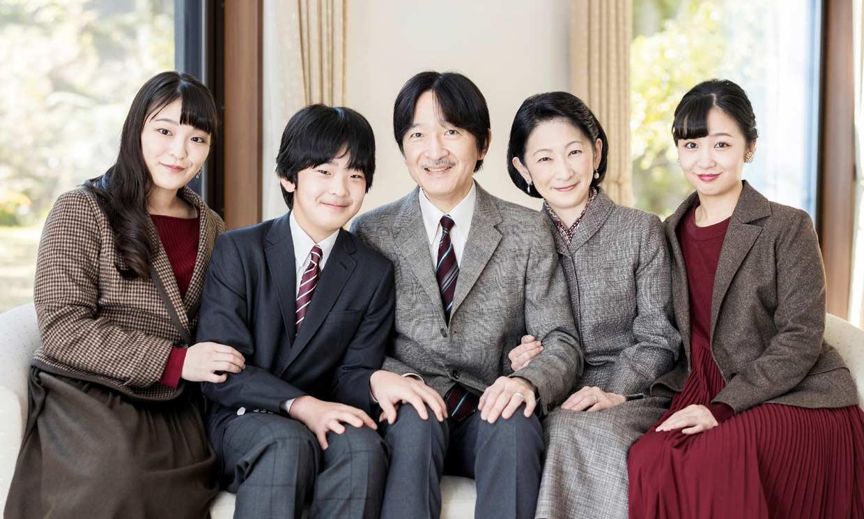 Akishino de Japón cumple 55 años con posado familiar y con su recién estrenado título de heredero