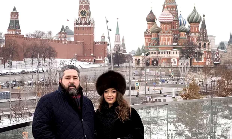 Jorge Romanov, al zarévich de Rusia, nos cuenta cómo son sus primeras navidades con su novia en Moscú