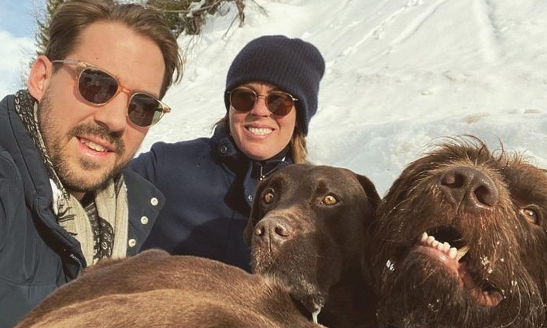 ¡Navidad en la nieve! Así viven Felipe de Grecia y Nina Flohr sus primeras fiestas como marido y mujer