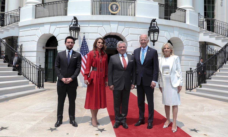 Rania de Jordania cuenta qué impresión le ha causado Jill Biden tras visitarla en Washington