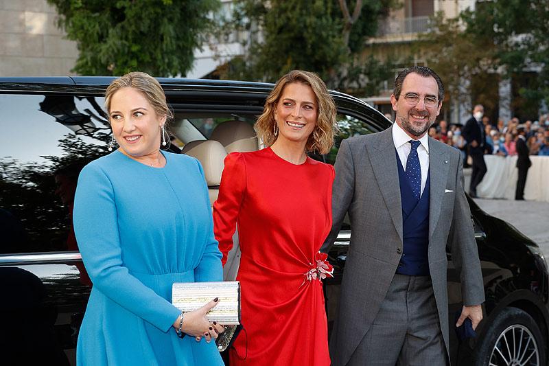 Свадьба Филиппа из Греции и Нины Флор: гости