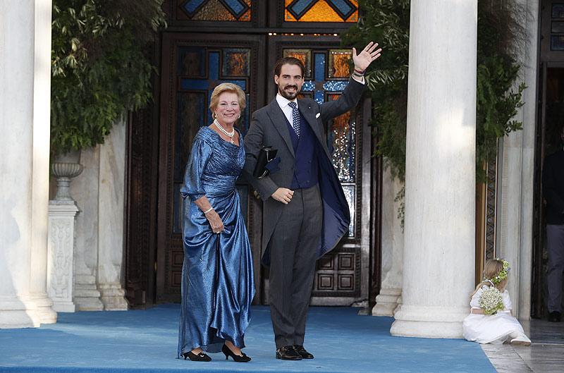 Boda Philippos de Grecia y Nina Flohr: invitados