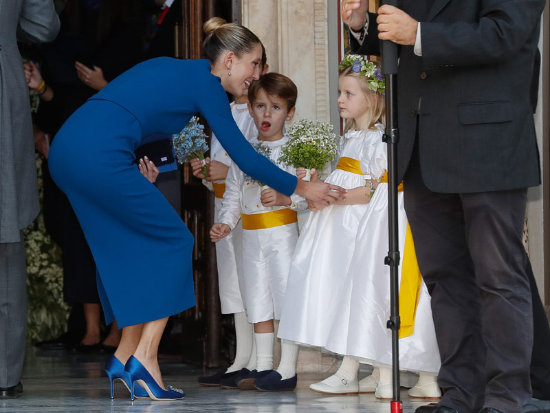 Свадьба Филиппа из Греции и Нины Флор