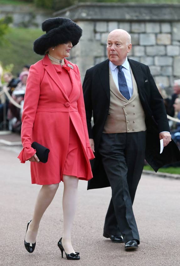Emma Joy Kitchener y Julian Fellowes