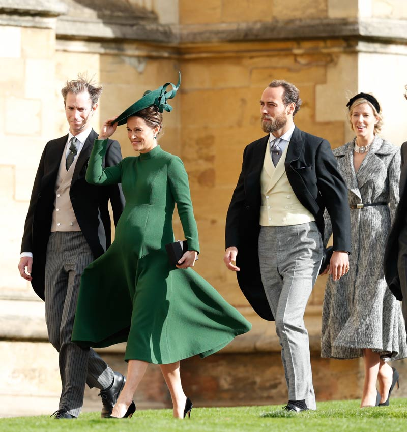 Pippa Middleton, James Mathew y James Middleton