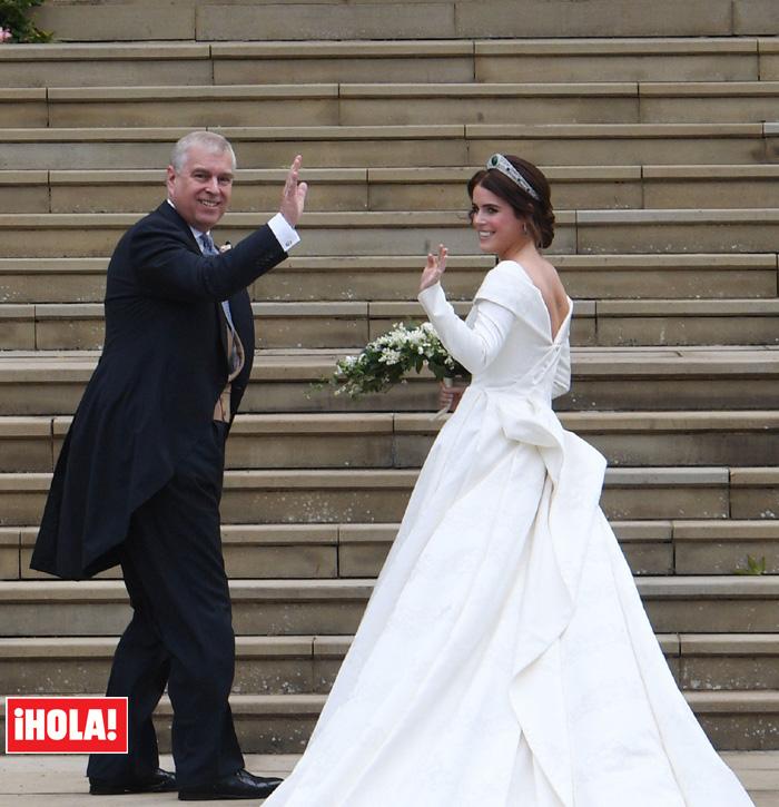 boda de eugenia de york y jack brooksbank: el vestido de novia