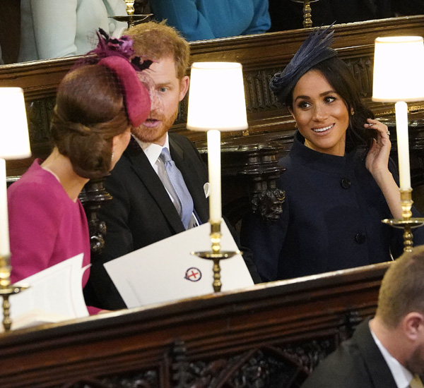 Meghan Markle y Príncipe Harry