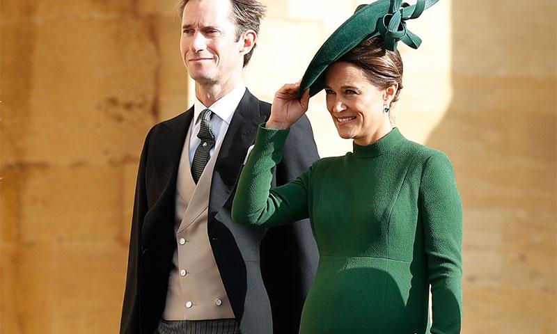 Pippa Middleton, la invitada premamá que se coló entre las mejor vestidas