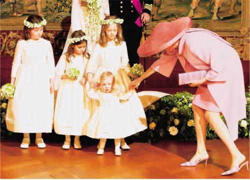 La verdadera 'reina' de la boda: la princesa Elizabeth