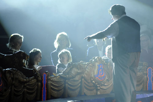 Los nietos de la reina Paola de Bélgica se divierten en el circo