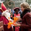 La princesa Matilde muestra su apoyo a las familias de los militares belgas en misión de paz