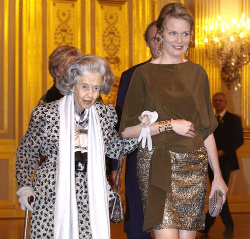 Fabiola de Bélgica disfruta junto al resto de la familia real belga del concierto de otoño, celebrado en el palacio real