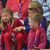 Los hijos de Felipe y Matilde de Bélgica disfrutan sus primeros Juegos Olímpicos en vivo