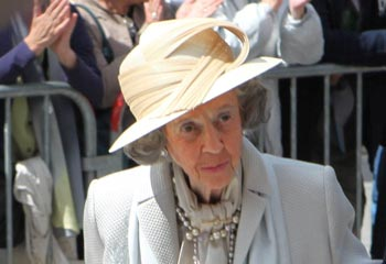 La reina Fabiola de Bélgica crea una fundación para proteger su her