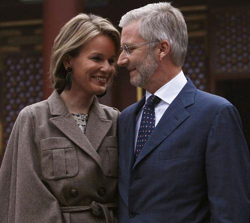 La declaración de amor de Felipe de Bélgica a su esposa, la princesa Matilde